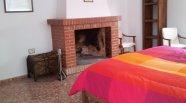 Casa rural con chimenea en Granada