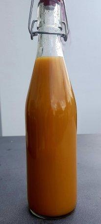 Apfelsaft selbst gemacht heimische Äpfel