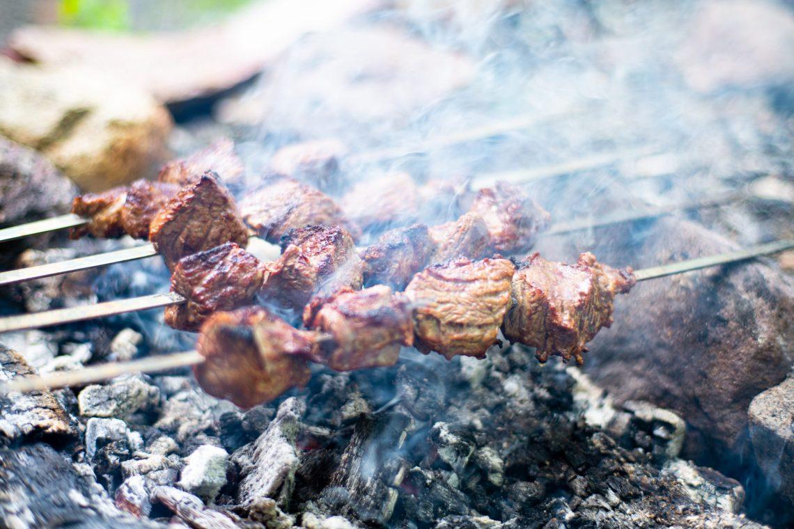 Rindfleischspieße aus Portugal