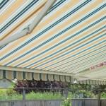 stripe awning