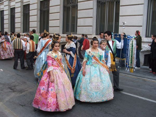 Fallas feesten in Valencia