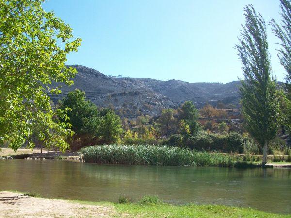 Rivier de Turia bij Pedralba