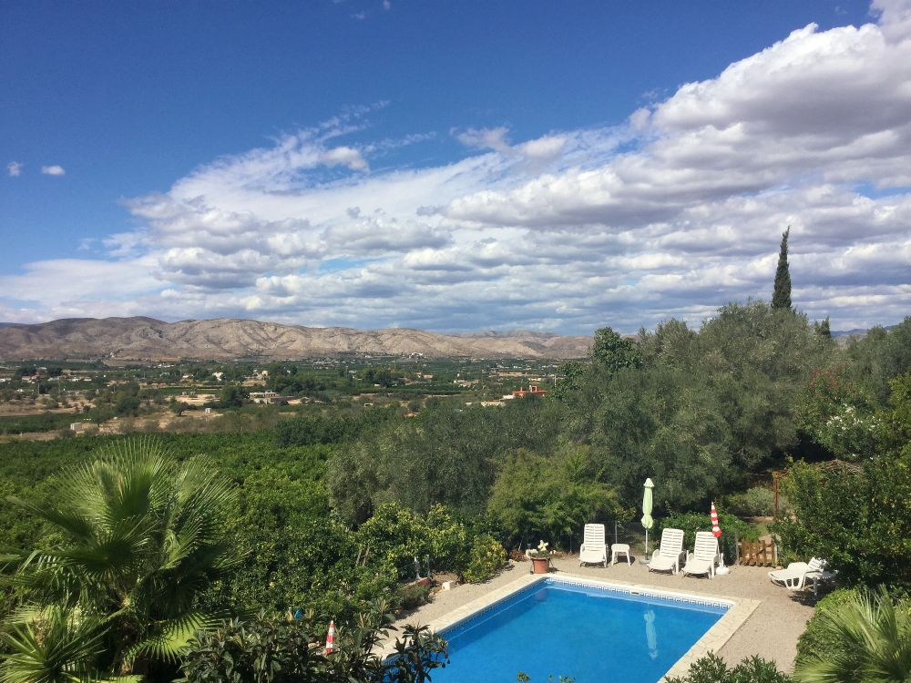 Uitzicht vanaf Casa Amigo