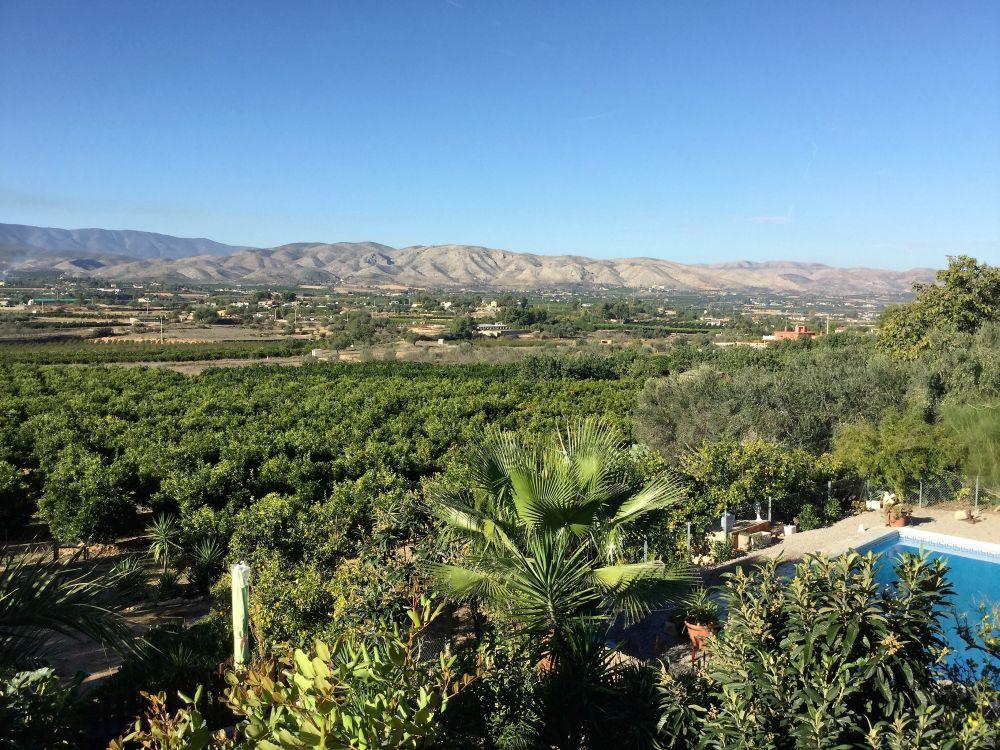 Uitzicht bij Casa Amigo
