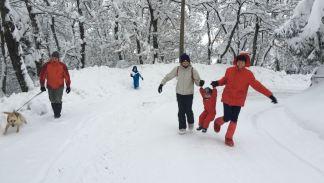 Nevicata Montese 7 febbraio 2015