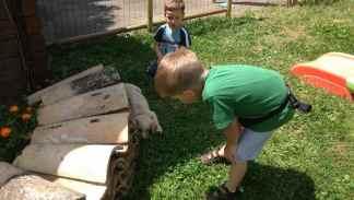 Taddeo e Giacomo studiano Luce
