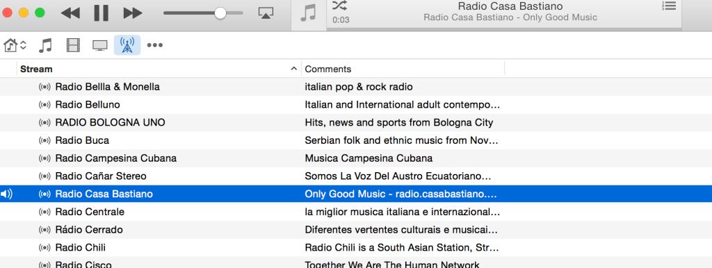 RCB su iTunes