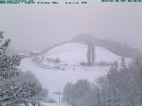Webcam Montefenaro 30 gennaio 2014