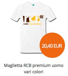 maglietta RCB premium uomo vari colori