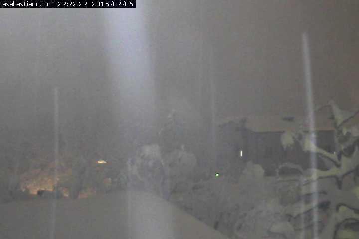 Webcam Casa Bastiano nevicata 6 febbraio 2015