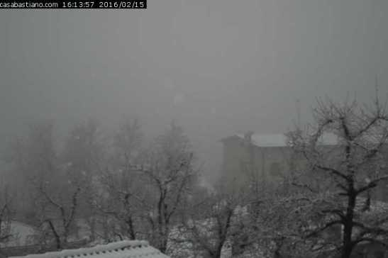 Webcam Montese Casa Bastiano 15/2/16