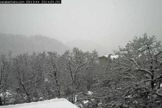 Webcam Casa Bastiano 30 gennaio 2014