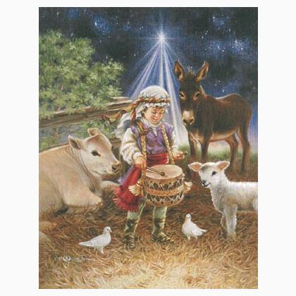Little Drummer Boy From Heaven And Earth Designs Cross