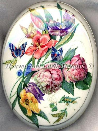 PTP Fine Flowers De Heaven And Earth Designs Grilles