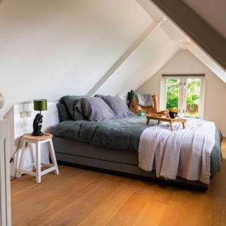linnen beddengoed in bed en breakfast Kortvertoef