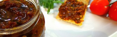 Pesto di pomodoro ciliegino secco