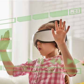 Realidade virtual - Casa Crescer
