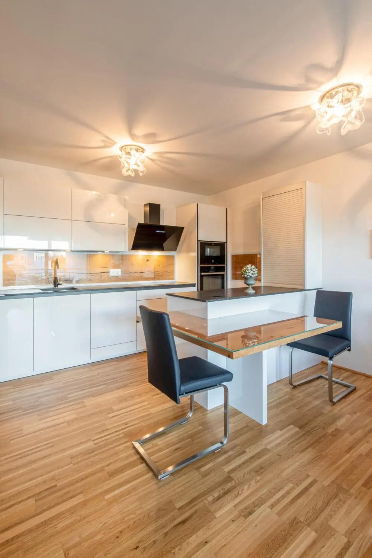Küchen mit integriertem Essbereich   Casa Cucina