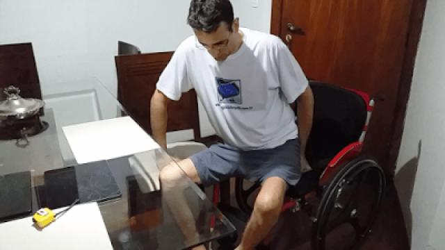 CADEIRANTE- TRANSFERÊNCIA- LESÃO MEDULAR - DE PAPO COM CLAUDINHA
