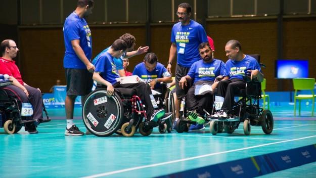 Existem 23 modalidades nos Jogos Paralímpicos.