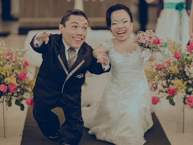 Eles se casaram em setembro deste ano (Foto: Divulgação/ Pippo Ferreira Casamentos)