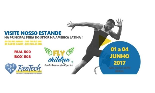 34d88a515 A fly Children também estará na REATECH em junho deste ano. Tags; Cadeira  de rodas infantil ...