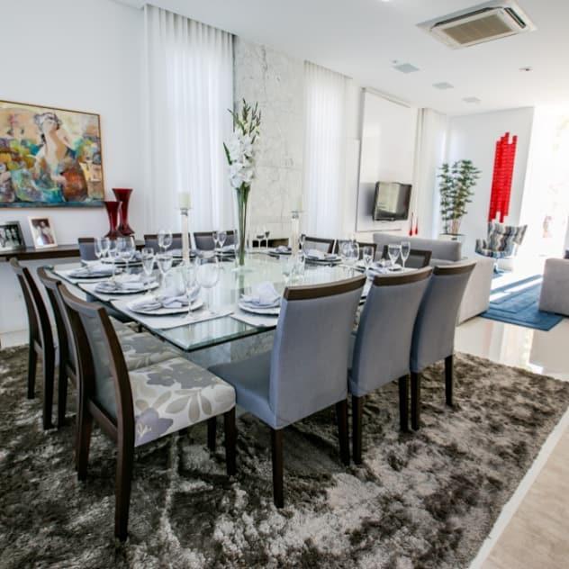 Sala de Jantar: Salas de jantar modernas por Bernacki Arquitetura