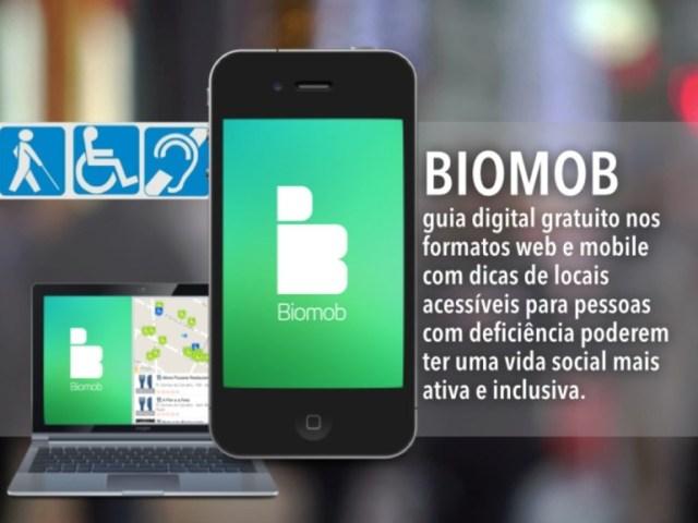 No Biomob, através de notas de 0 a 5, cada endereço é graduado, sendo acompanhado por fotos e comentários sobre os itens de acessibilidade.
