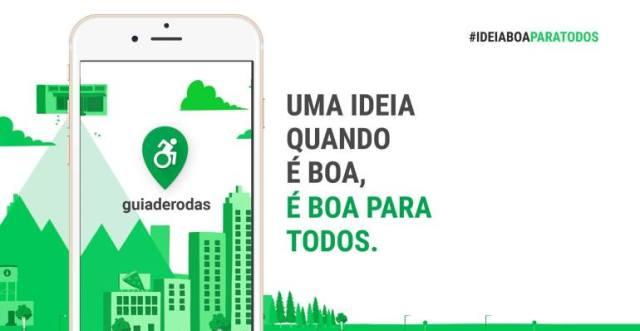 O guiaderodas foi premiado pela ONU como a melhor solução digital inclusiva no mundo