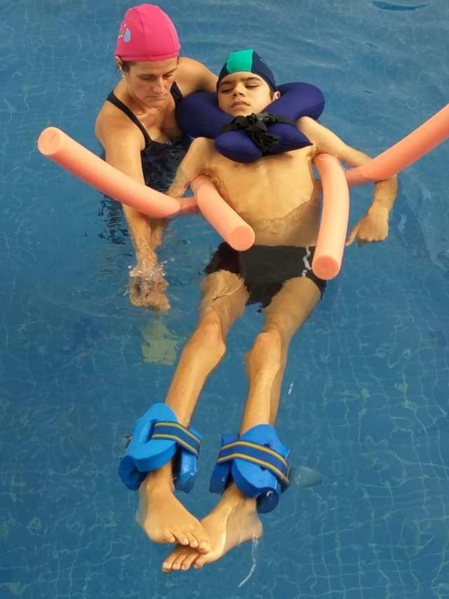 hidroterapia com miguel