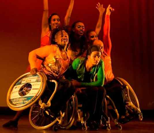 dança em cadeira de rodas