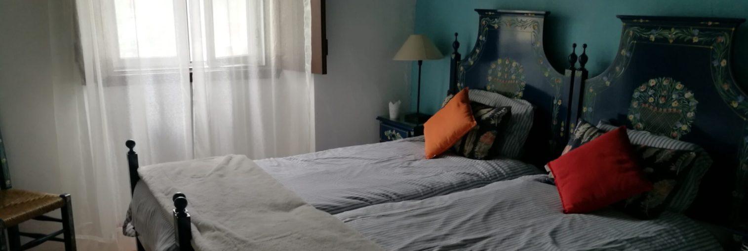 Casa das Amoras Blue Bedroom
