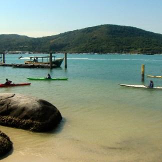 Canoagem Ilha de Porto Belo