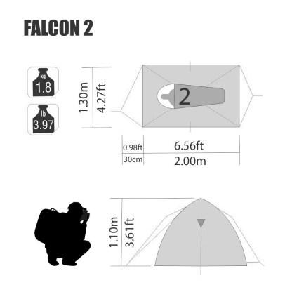 Barraca Falcon 2 NTK