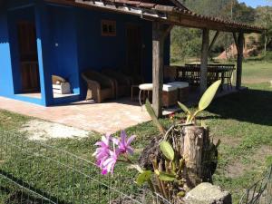 Varanda do local de hospedagem na Peregrinação no Caminho de Santa Madre Paulina