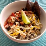 Ground Chicken Burrito Bowl for #SundaySupper