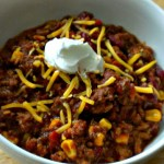Chili for #SundaySupper