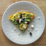 Greek Frittata for #SundaySupper