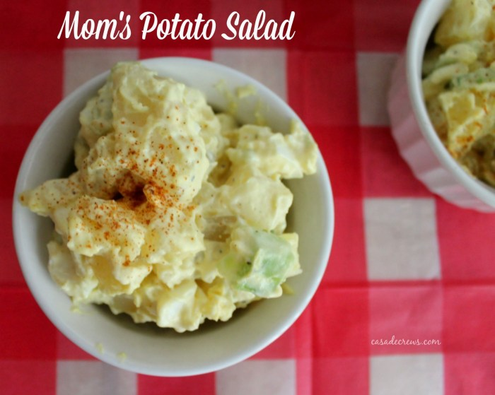 potato salad using @safeeggs at Casa de Crews #summer #sides #potatosalad