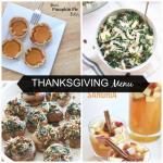 #Thanksgiving Menu