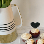 [Gluten Free] Red Velvet Cupcakes for Valentine's Day