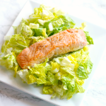 Salmon Caesar Salad for #SundaySupper