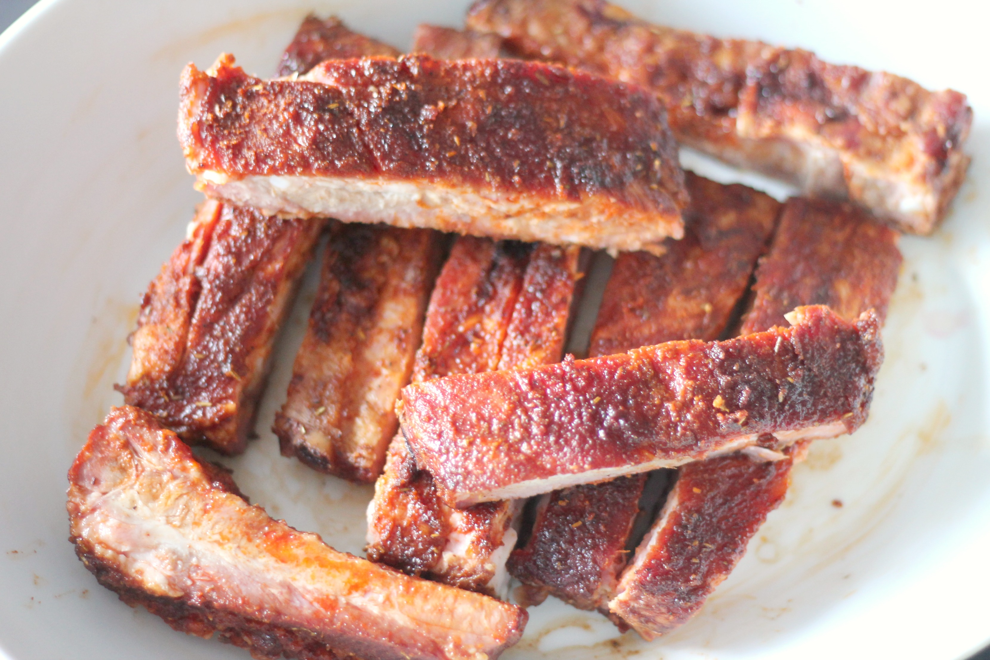 St Louis Ribs With A Dry Rub Recipe Low Carb Casa De