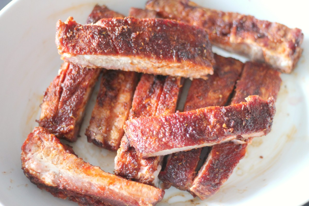 St. Louis Ribs with a Dry Rub Recipe