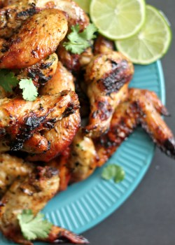 Cilantro Lime Chicken Wings