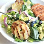 Grilled Chicken Salad with a Honey-Lime Vinaigrette