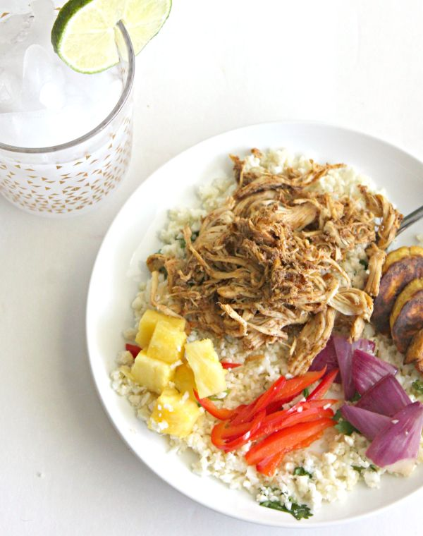 jerk chicken rice bowls for #weekdaysupper - have dinner ready in under 30 minutes!