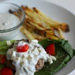 Gyro Burgers with Homemade French Fries
