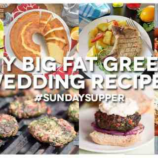 Opa! A #SundaySupper Feast to celebrate opening weekend of My Big Fat Greek Wedding 2