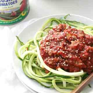 Homemade Bolognese Sauce